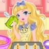 Blondie runs a school blog and today she wants to share a new recipe on her blo