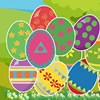 Easter eggs in the carton are well designed with different creative art works. Celebrate the Easter springtime merilly by clutching the eggs and get delighted with different levels.