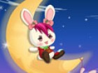 This adorable little bunny lives on the moon. P...