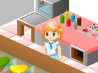 Prepare and sell cakes, learn new recipes and buy upgrades with the money you a