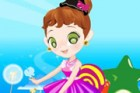 Dress up the candy fairy, she is very busy and needs your help.