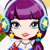 This little sweet girl loves music and she want to be a candy rocking star! Cou