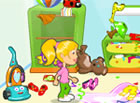 The room is one big mess and mommy is checking soon! Can you help Caroline to c