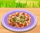 Cassoulet is a rich, slow-cooked casserole originating in the south of France,