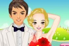 Young couple will meet a restaurant in the historical castle. Lisa wants to loo