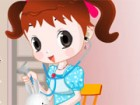 Tracy is always dreaming of becoming a future nurse. She loves to practice a nu