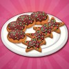 Make many chocolate Christmas cookies by cookin...