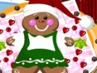 In this fun Christmas decoration game, you will get your own gingerbread man th