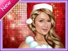 Here is Paris Hilton some new look. All very well know Christmas has start. Pa