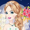Finally Prince finds Cinderella with her shoe she lest at the ball. Now Prince and Princess Cinderella are going to marry. Lets dress up Cinderella for her wedding. Dress up her with a nice wedding gowns. After that choose her a hairstyle. Then complete her look with accessories and a pair of shoes.