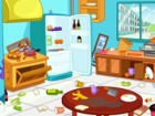 Clean up kitchen is a game to help mommy to clean the kitchen. The kitchen is a