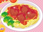 Yummy!! I love spaghetti with big meatball and I think that there is so many ki