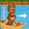 Join this cute bear in this fun throwing games!...