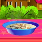 In this game you can make your own delicious chicken soup. Follow the instructi