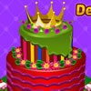 Play our latest cake decorating game and make a cool crown cake for your best f