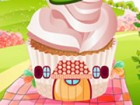 Decorate a perfect cupcake house fachinating nature.