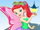 Dress a butterfly fairy with many options. This fairy can  fly really well bec