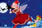 Lalala, Christmas Day is near. And Santa let her Christmas fairy send gifts to