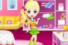 Play this fun dress up game for girls and dress up this cute little girl. She w