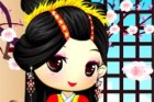 The princess Maiko is getting prepared for her sister's wedding ceremony. Let