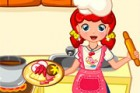 Emma invites you into her kitchen, where cooks tasty dishes with only fresh ing