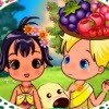 Amy and Ellie are always fansinated by the tropical forest. They have the chanc
