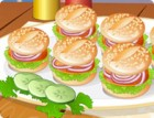 When you're not hungry enough for a big burger, or you just want something cute to snack on, these tasty little burgers are the perfect treat. Dress them up in as many condiments and toppings as you want. Load up a veggie burger with half a head of lettuce, pour on the ketchup and mustard, or just take it greasy and delicious