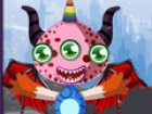 Dress up this little monster with colorful body parts, eyes, hair styles and wi