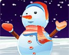 Hey kids! Ready for winter? Let's make a cute snowman in this special game for