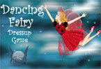 This fairy realy likes dancing. Let's dress up her with dancing clothes