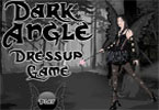 Dress up this dark angel with dark clothes.