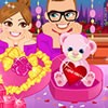 Choosing a gift for your love is very important on valentines day. This cute boy loves Anna and he wants to give her love Anna a spacial gift. Play mydressupgame valentines day gift decorating game and help this boy to decorate a lovely gift for her love Anna. Have fun.