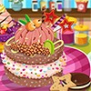 Decorate your own special cake by choosing cake flavors, and toppings like frui