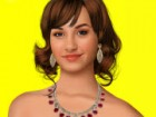 Demi Lovato is a great teen star, she is a cute singer and she must look cool.