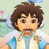 Help your friend in this Diego dentist game so ...