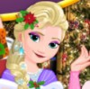 Christmas is coming and disney princesses are very exited. You can dress up fou