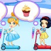 Welcome to frozen princess Elsa's cupcake factory game. Elsa have a cupcake fac