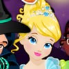 Dress up disney princesses Princess Jasmine, Princess Cinderella, Princess Tian