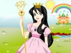 Play with a beautiful princess and her wardrobe full of clothes.