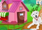 These cute dogs have a lovely house and they are happy residing in their sweet