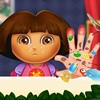 Enjoy the spring break with this new Dora hand doctor game as she will too once