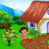 Welcome to doras fruit house game. You can decorate a fruit house and a ffruit