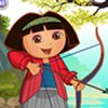 Play archer dora dress up game and choose the p...