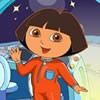 Dora has a big dream,she wants to go into space trave.Today,her dream came true