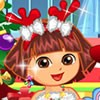 Its christmas time and Dora is going to have a lot of fun! Lets start to a chri
