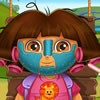 Dora got tired of her old look and in this Dora makeover game you will get to c