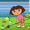 Dora and Boots were returning home after visiting her friends place, Swiper the