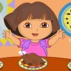 Help Dora find 3 plates with healthy food for e...