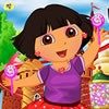 Dora the explorer is here in this new dress-up game and she will surely want yo