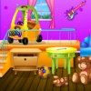 DEcorate a cool room for Dora and her friends. At the end of decorating games you will have a great kids room.